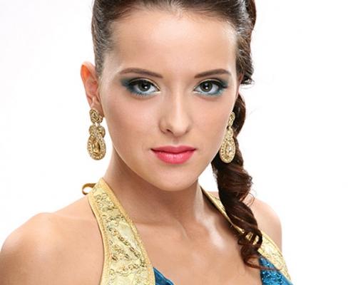 modelka Roksana Oraniec - makijaż sesyjny Ostrowiec