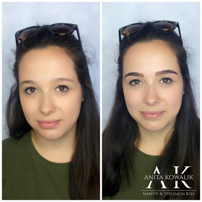 stylizacja brwi - Ostrowiec Świętokrzyski makeup