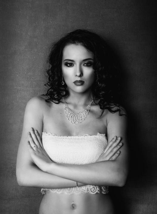 modelka Roksana Oraniec, fot. Arkadiusz Pękalski