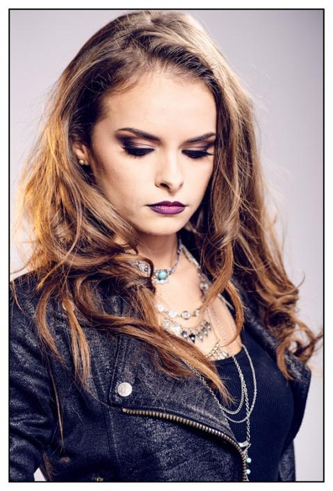 Ostrowiec Świętokrzyski modelka Agnieszka Kaczmarczyk, fot. Arkadiusz Pękalski