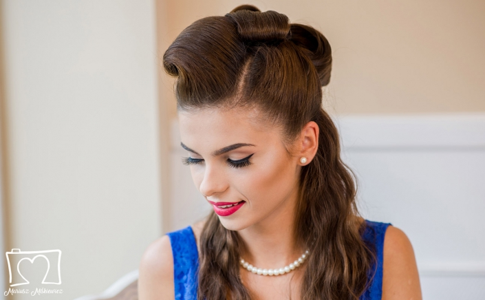 modelka Paulina Jabczyk, makeup Anika Kowalik Kocie OKO