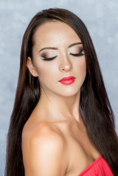 makeup modelka Roksana Oraniec, Ostrowiec