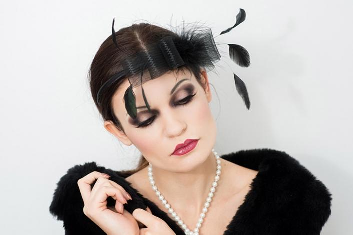modelka Paulina Skowron, makeup Kocie OKO