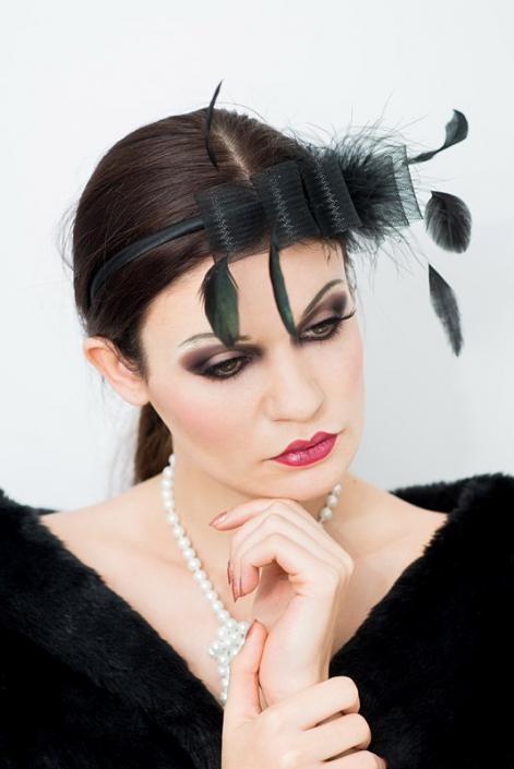 modelka Paulina Skowron, makijaż Anita Kowalik