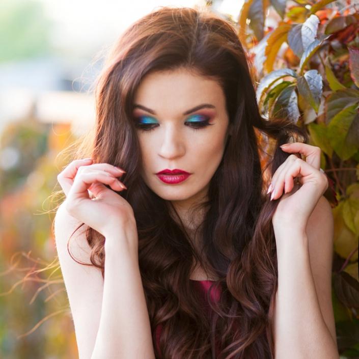 makijaż wieczorowy wykonany przez Anitę Kowalik Ostrowiec Świętokrzyski