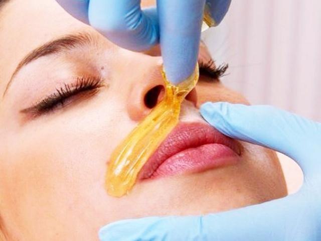 depilacja pastą cukrową - wąsik Ostrowiec