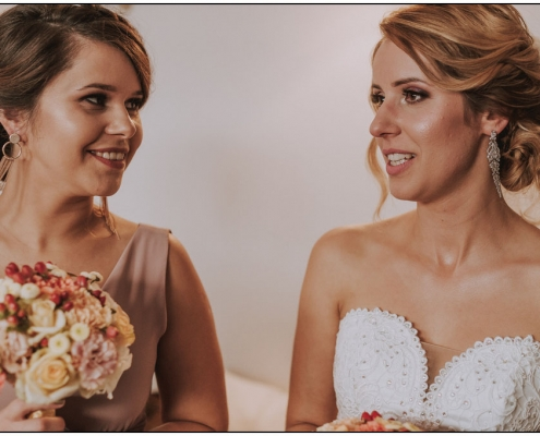 Makijaż ślubny klientka