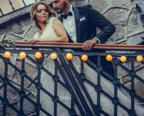 Makijaż ślubny schody